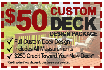 $50 custom deck design package deal