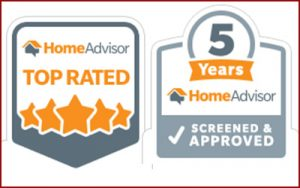 top rated company from Home Advisor