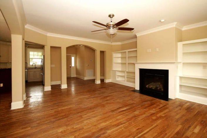 Basement-Flooring-Ideas-With-Wall-Design